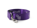 lanyardsdesign - dark purple nylon lanyard