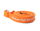 lanyardsdesign - orange tubular lanyard