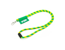 lanyardsdesign.com - yellow green cord lanyard
